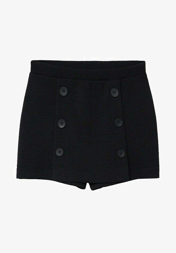 Mango - A-line skirt - black
