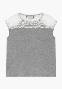 Rosemunde - BERLIN - Print T-shirt - light grey - 1