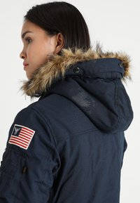 Alpha Industries - POLAR JACKET - Vinterkappa /-rock - blue - 7