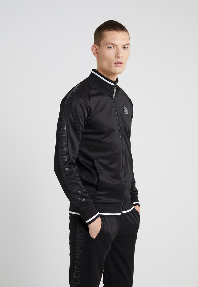 JOGGING JACKET SPORT - Zip-up hoodie - black