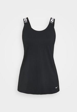 ELASTKIA - Funktionsshirt - black/white