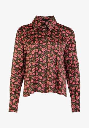 CARLEE - Button-down blouse - brown