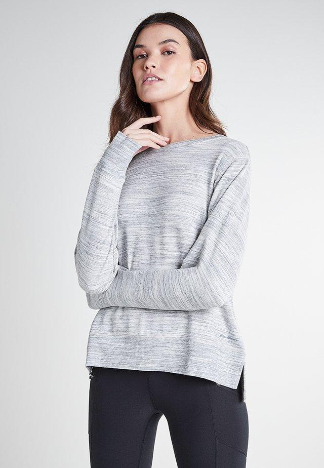 Sweatshirt - schneeweiß