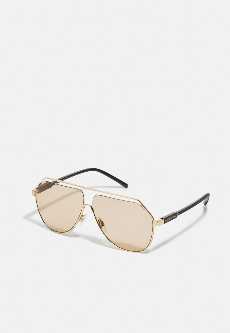 Dolce&Gabbana - UNISEX - Sunglasses - gold-coloured