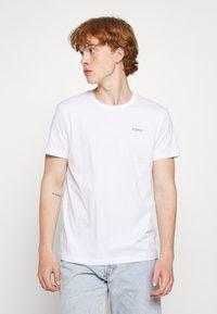Esprit - 2 PACK - T-shirt imprimé - black - 1