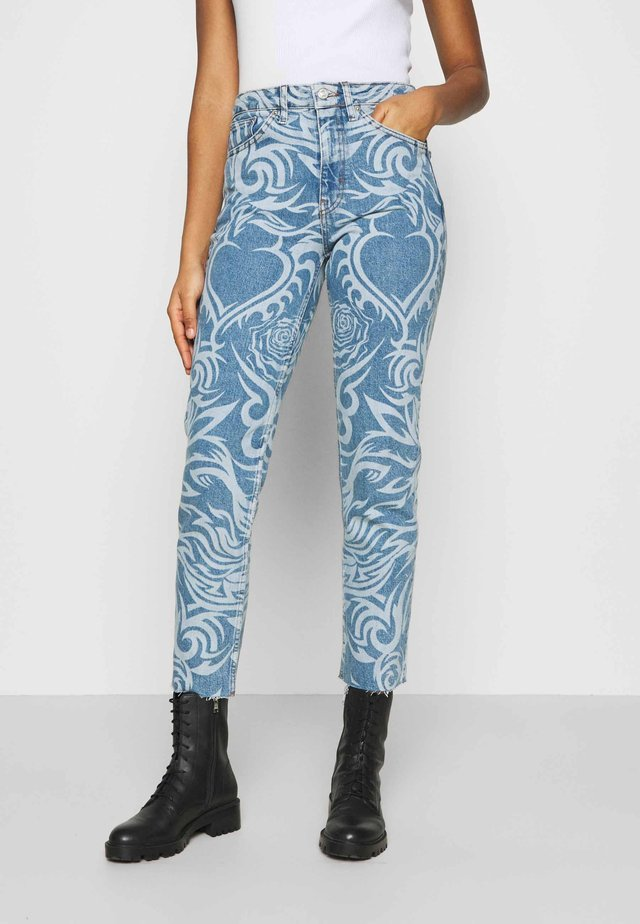 LASER  - Jeans Skinny Fit - mid blue