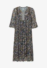 Sheego - Maxi dress - steingrau bedruckt - 4