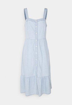 DRESS - Denim dress - light wash