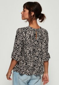 Superdry - JAYNA RUFFLE - Blouse - brown - 2