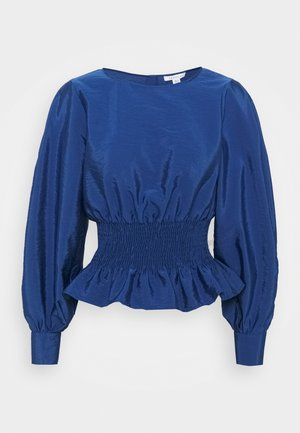 RUCHED - Blouse - navy