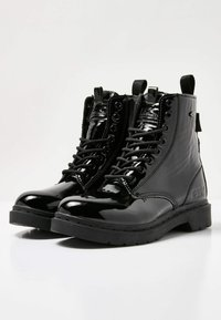 British Knights - Lace-up ankle boots - black shiny - 3