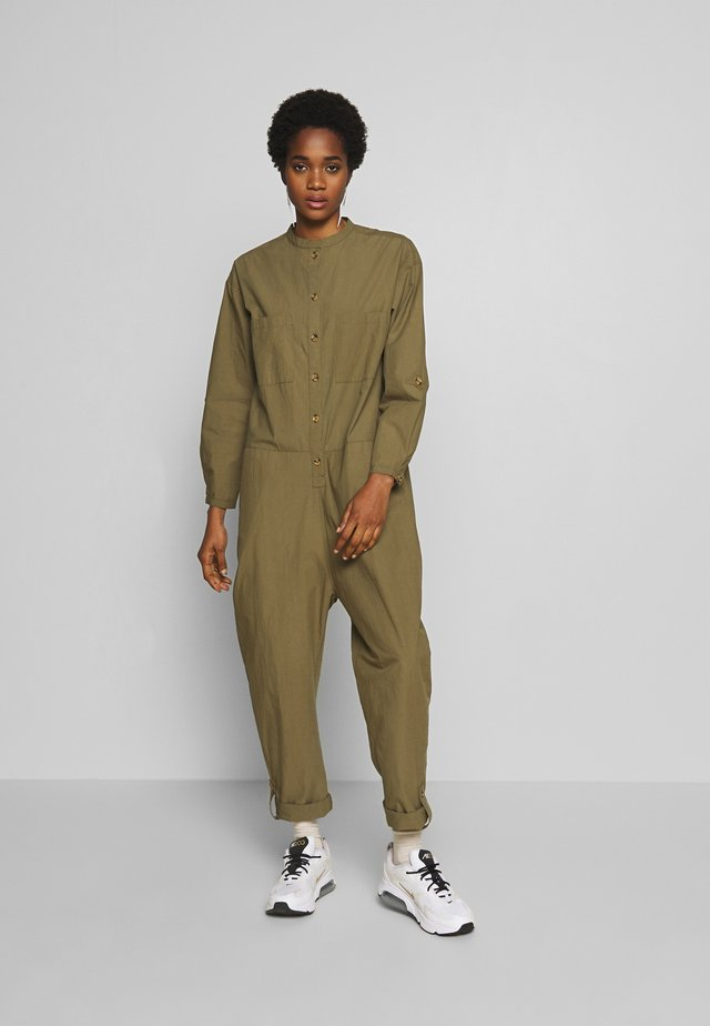 RAIN - Jumpsuit - dusky green