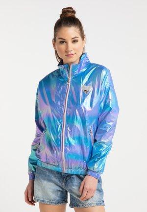 HOLOGRAPHIC  - Summer jacket - blau holografisch