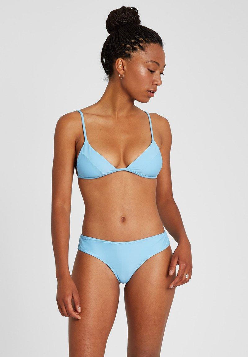 Volcom - SIMPLY SOLID TRI - Bikini top - coastal blue