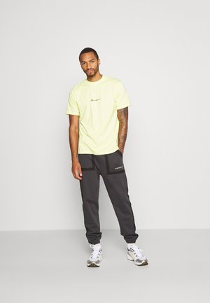 ESSENTIAL SIGNATURE 2 PACK - Basic T-shirt - neon/grey