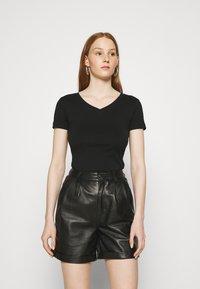 Zign - T-shirts basic - black - 0