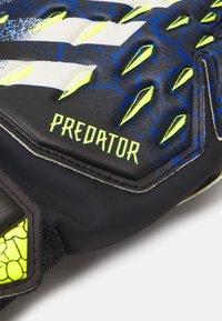 adidas Performance - UNISEX - Goalkeeping gloves - black/royblu/syello/w - 1