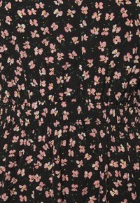Pieces - PCDALLAH DRESS - Shirt dress - black / light pink - 4