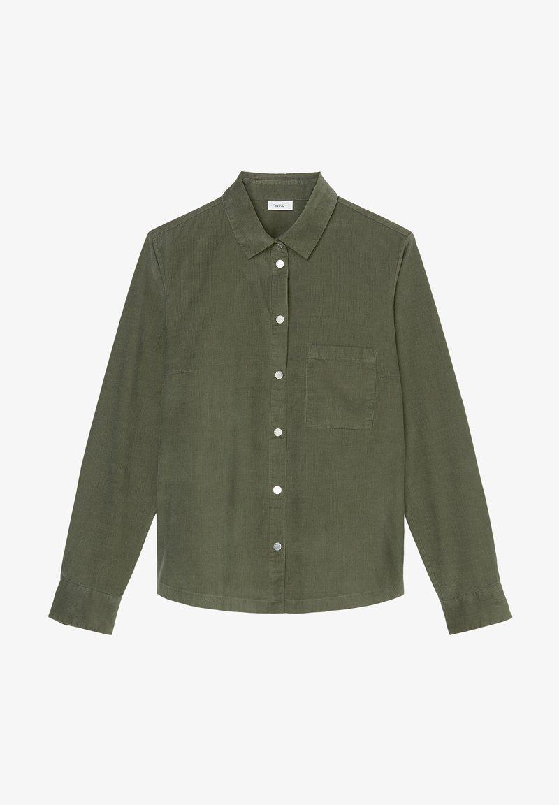 Marc O'Polo DENIM - Button-down blouse - utility olive