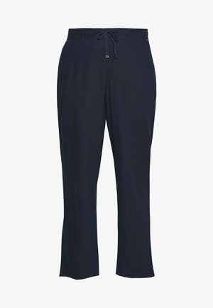 REGULAR BLEND TROUSER - Kangashousut - navy