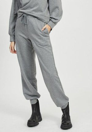 Tracksuit bottoms - medium grey melange