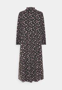 Vero Moda - VMFILIA TIE CALF DRESS - Day dress - black/rose - 8