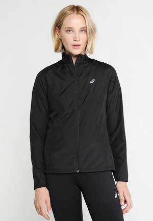 SILVER - Laufjacke - performance black