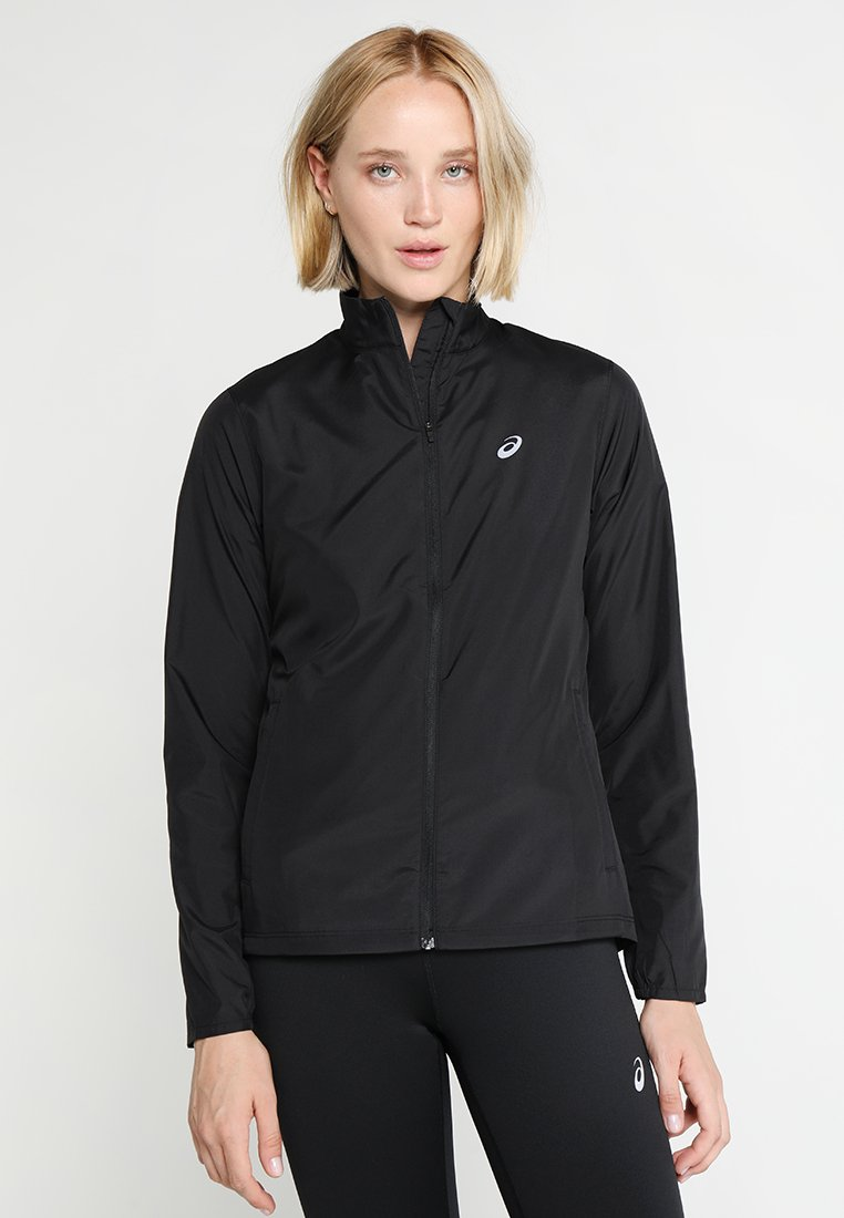 ASICS - SILVER JACKET - Kurtka do biegania - performance black