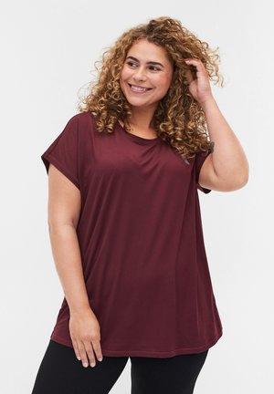 T-shirt - bas - brown