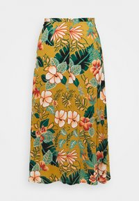 King Louie - JUNO SKIRT LILO - A-line skirt - gold yellow - 1