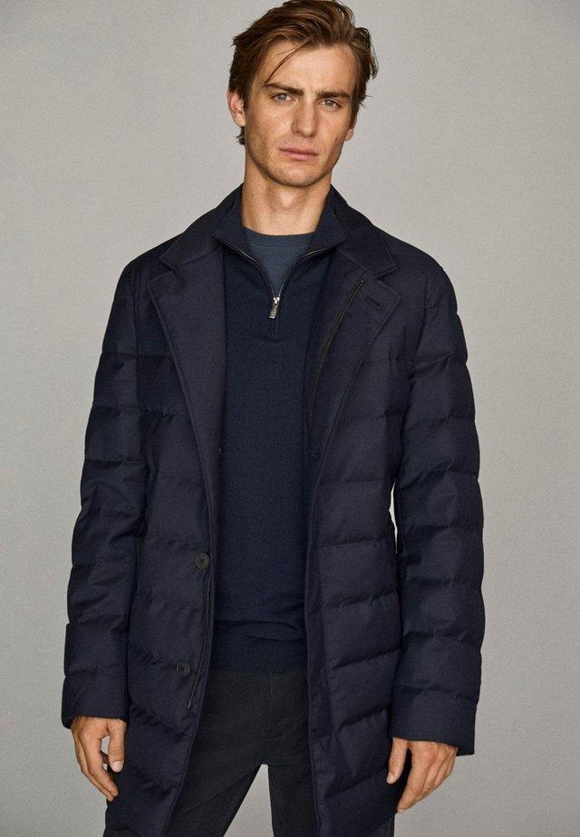 IM TRENCH-STIL - Winter coat - dark blue