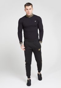 SIKSILK - LONG SLEEVE CHAIN  - Long sleeved top - black/gold - 0
