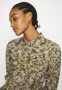 Object - OBJAZZA DRESS - Košilové šaty - khaki - 3