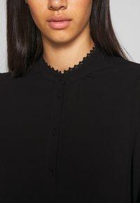Vero Moda - VMESTHER - Button-down blouse - black - 4