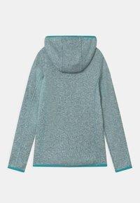 CMP - FIX HOOD UNISEX - Fleece jacket - giada/bianco - 1
