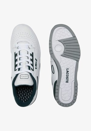 Trainers - wht/dk grn