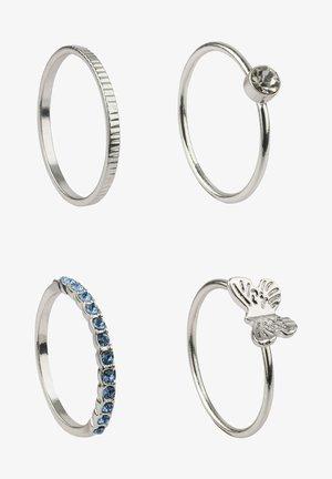 4ER SET RINGE VON ANA LISA KOHLER - Ring - silver