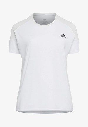 UNLEASH CONFIDENCE T-SHIRT (PLUS SIZE) - T-shirts med print - white