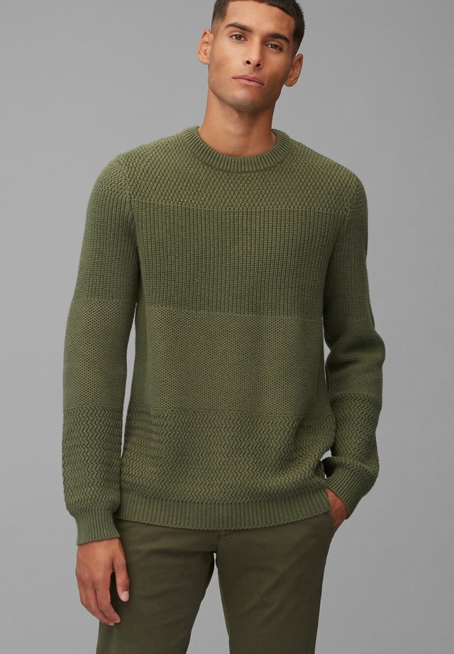 Sweter - utility olive