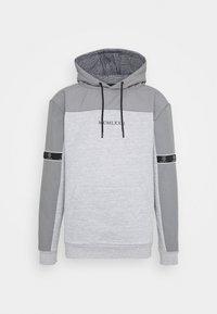 Brave Soul - THAMES - Sweatshirt - light grey marl/light grey/jet black - 4