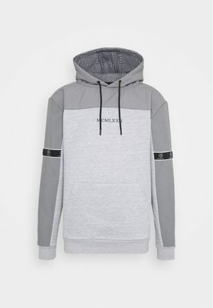 THAMES - Sweatshirt - light grey marl/light grey/jet black