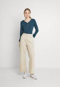 Ragwear - PINCH STARS - Long sleeved top - denim blue - 1