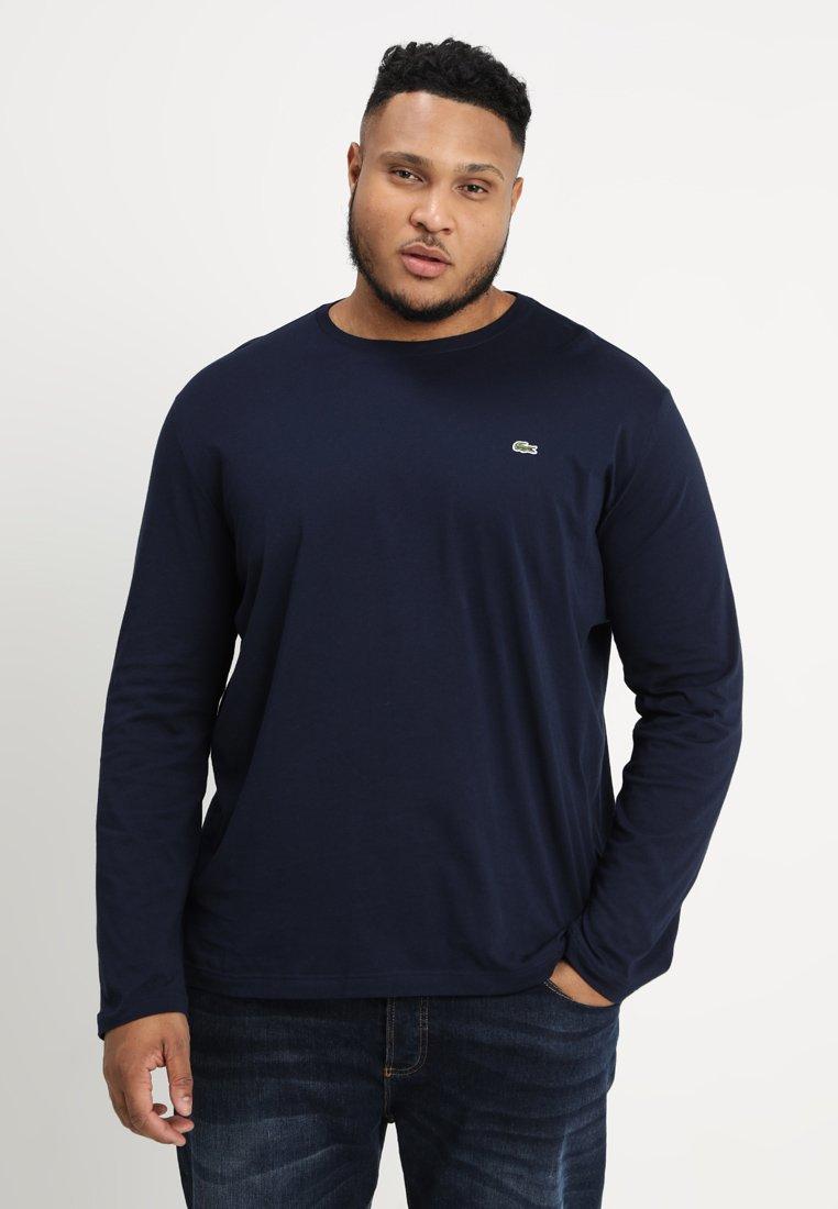 Lacoste - Bluzka z długim rękawem - navy