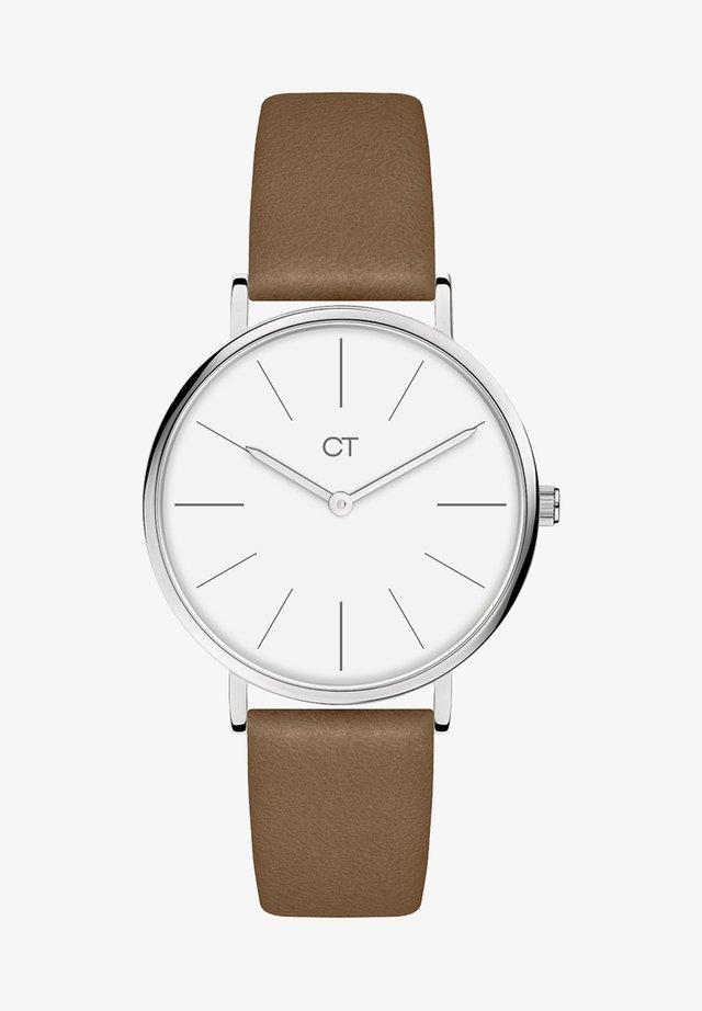 Watch - silber/beige