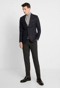 Burton Menswear London - RUST CHECK - Blazere - navy - 1