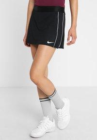 Nike Performance - DRY SKIRT - Falda de deporte - black/white - 0