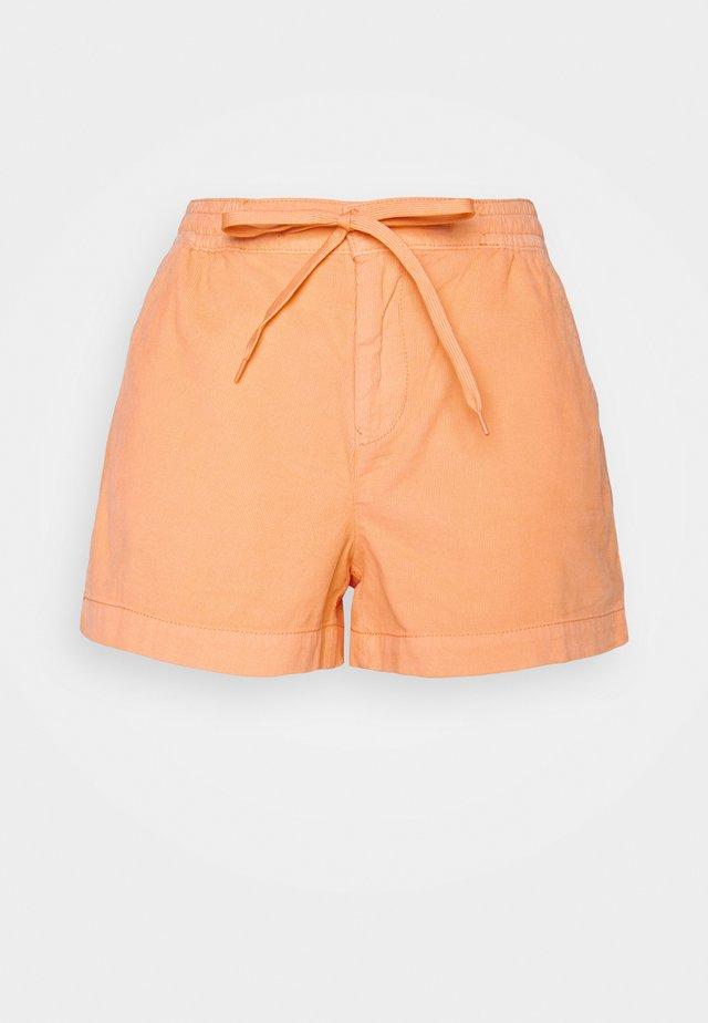 HIGH RISE SPORTY BONNIE - Shorts - neon peach
