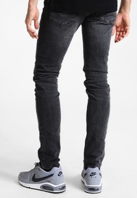 TOM TAILOR DENIM - CULVER  - Slim fit jeans - dark stone black denim