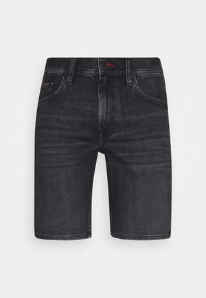 BROOKLYN - Denim shorts - agar black