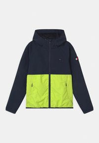 Tommy Hilfiger - COLORBLOCK  - Training jacket - twilight navy/ faded lime - 0